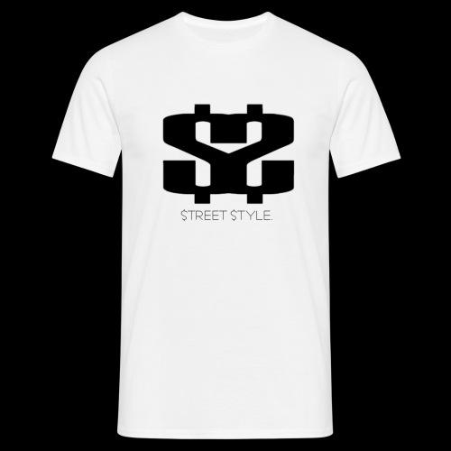 $$ BLACK LOGO - T-shirt herr