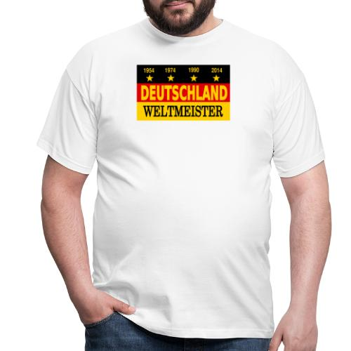 Flag of Deutschland - Mannen T-shirt