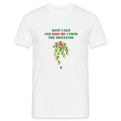 Under the mistletoe - Männer T-Shirt
