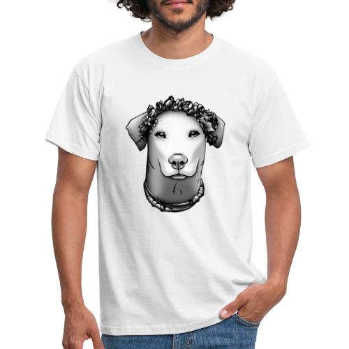 FarbPfoten by Lin - JEANNIE o. Rahmen - Männer T-Shirt