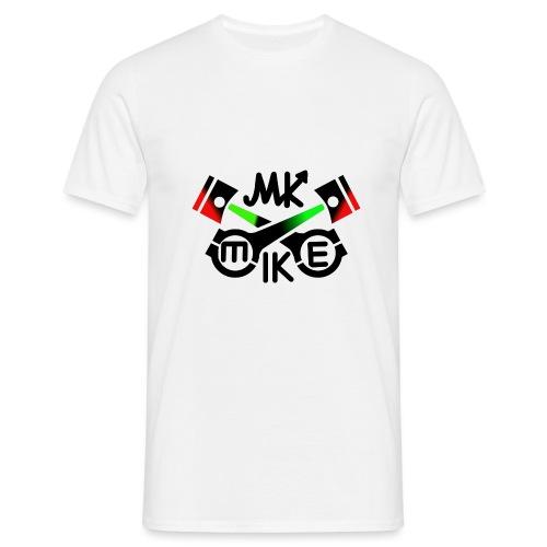 Mike logo jpg - Miesten t-paita