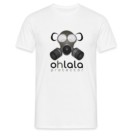 OHLALA PROTECTOR BLK - T-shirt Homme