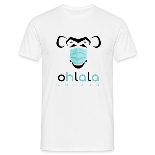 OHLALA CORONA WHITE - T-shirt Homme