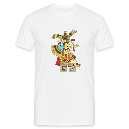 Xochiquetzal Aztec Aztekenmuster Hipster - Männer T-Shirt