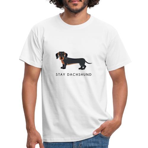 Dachshund Black - Maglietta da uomo