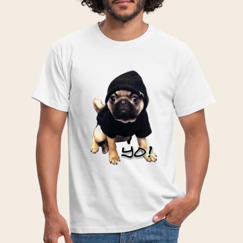 yo_mops_3 - Männer T-Shirt