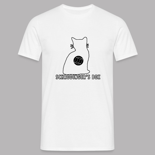 Schrodinger's Box - Men's T-Shirt