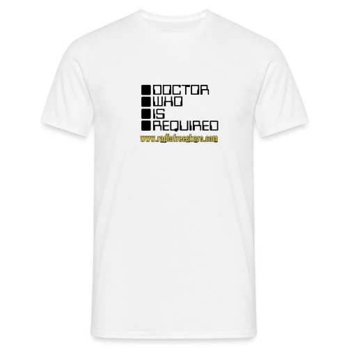 dwisrequired - Men's T-Shirt