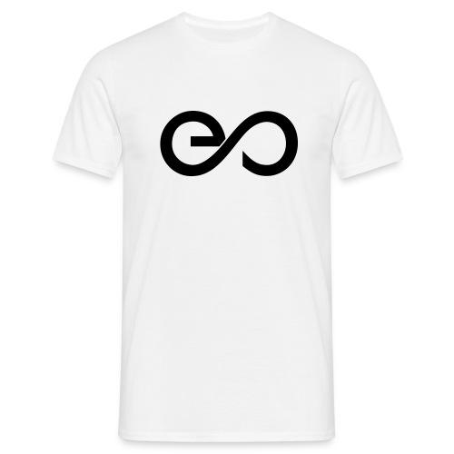 Eric Sneo Logo schwarz SVG - Männer T-Shirt