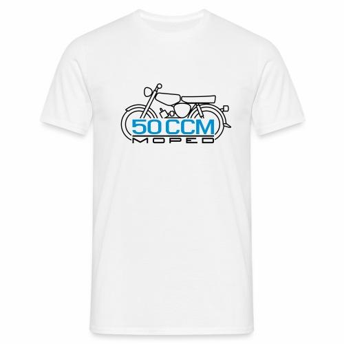 Moped S51 60 ccm Emblem - Men's T-Shirt