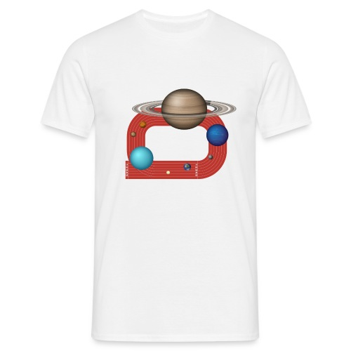 Orbit People - Männer T-Shirt