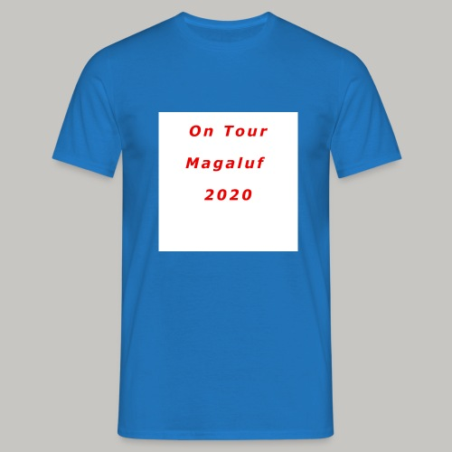 On Tour In Magaluf, 2020 - Printed T Shirt - Men's T-Shirt