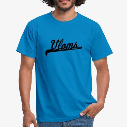 Zwart logo Vloms - Mannen T-shirt