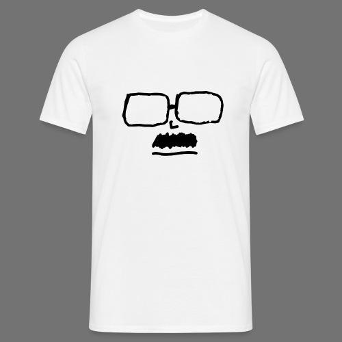 Incognito musta printti ilman typo - Miesten t-paita