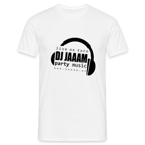 logo dj jaaam partymusic pos obj - Männer T-Shirt