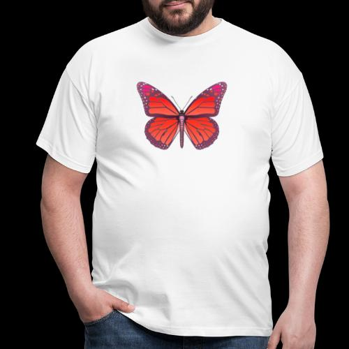 D28 monarch butterfly red lajarindream 4500px - Camiseta hombre