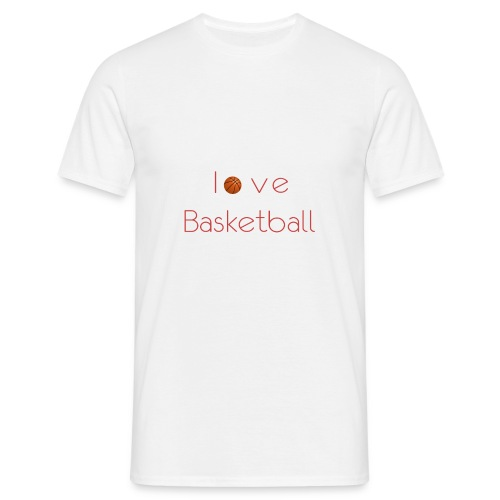 love basketball - Koszulka męska