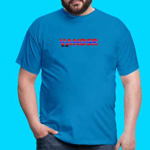 Vander in Red, white and blue. - Men's T-Shirt
