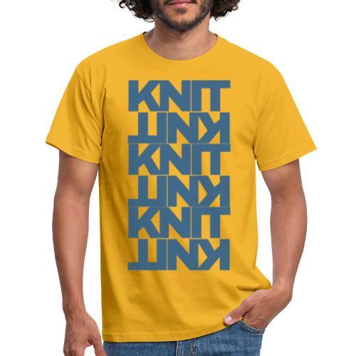 Garter Stitch, dark - Men's T-Shirt