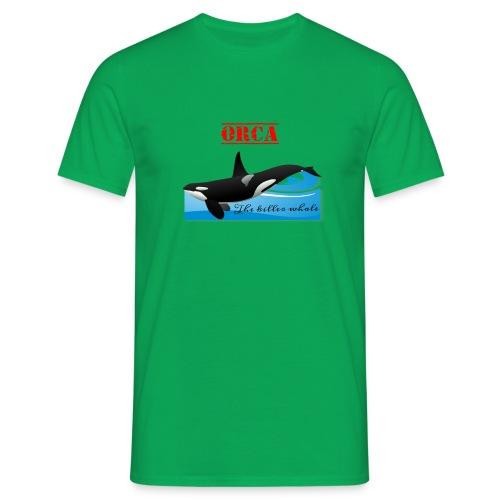 Orca La Balena Assassina Maglietta Uomo Donna 2018 - Maglietta da uomo