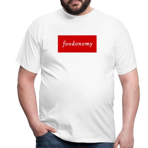 Foodonomy Logo - Maglietta da uomo