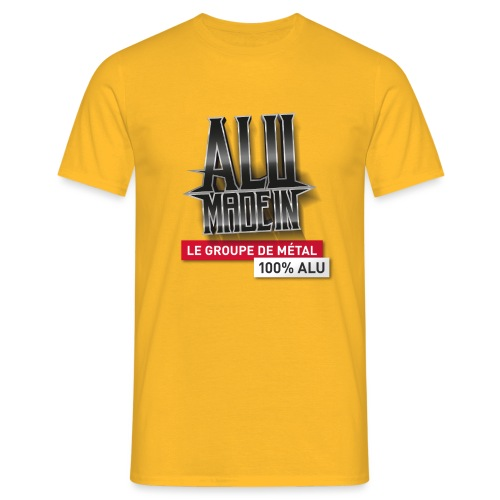 LOGO ALU MADE IN 02 - T-shirt Homme