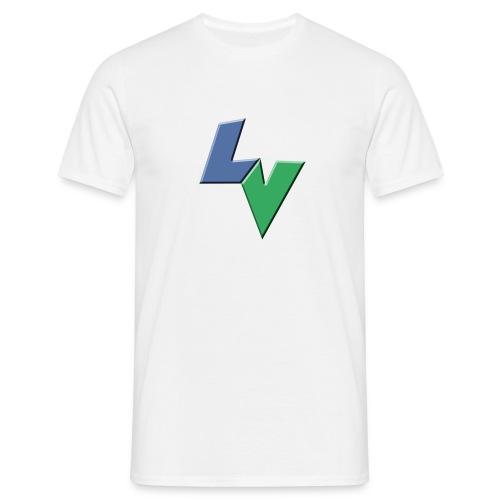 LeoVeo LV Logo - Men's T-Shirt
