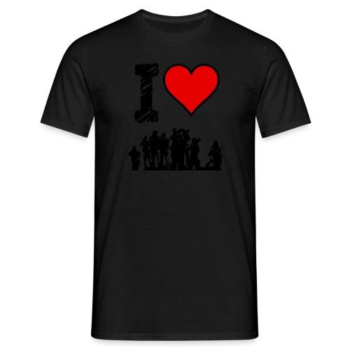 I Love Spotting - Maglietta da uomo