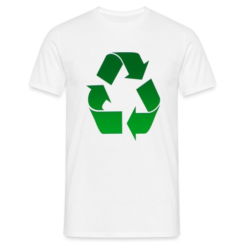 Recyclage - T-shirt Homme