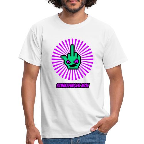 Round Logo mit Name - Männer T-Shirt