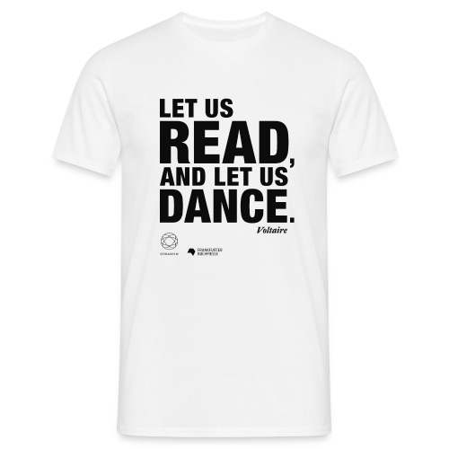 LET US READ | Bookish Merch - Männer T-Shirt