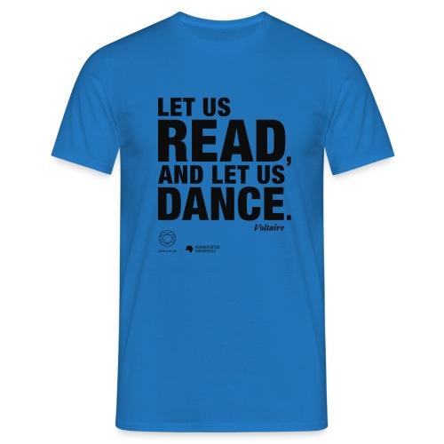 LET US READ   Bookish Merch - Männer T-Shirt