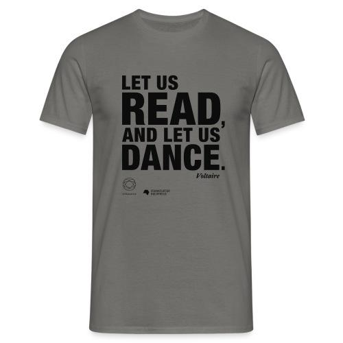 LET US READ | Bookish Merch - Männer T-Shirt