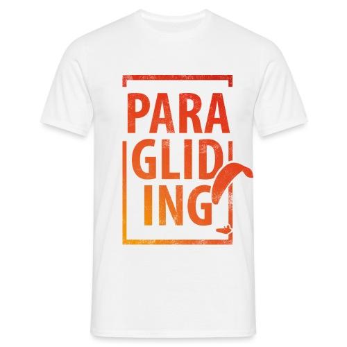 Paragliding Gleitschirmfliegen Paragleiten - Männer T-Shirt