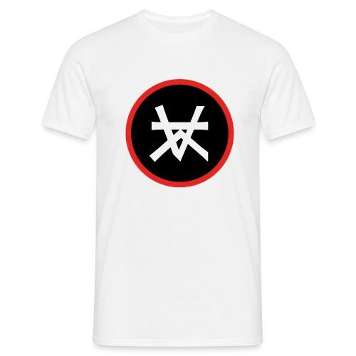 Kairos Logo Red&Round - Mannen T-shirt