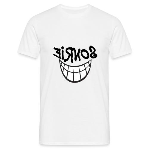 Para el Espejo:Sonrie 01 - Camiseta hombre