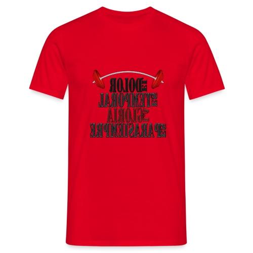 Para el Espejo: GYM - DOLOR TEMPORAL - Camiseta hombre
