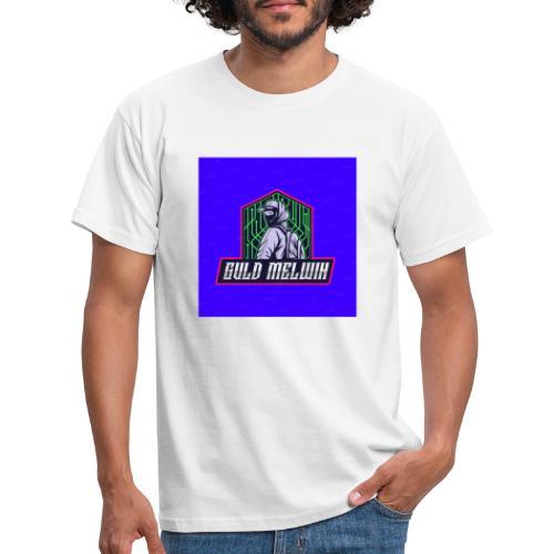 Guld Melwin - T-shirt herr