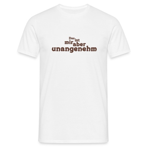 Unangenehm - Männer T-Shirt