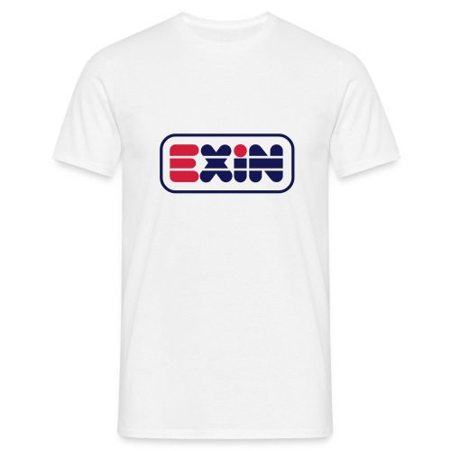 logo exin - Camiseta hombre