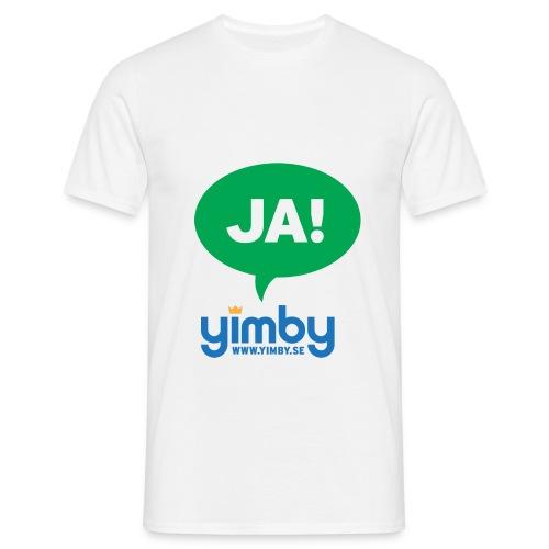 ja green - T-shirt herr