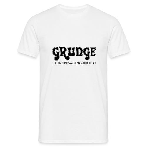 Grunge the legendary American Guitar Sound - Men's T-Shirt