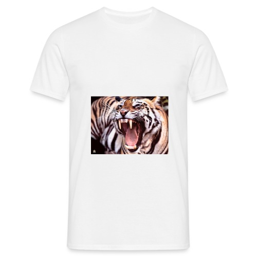 tigergjesp - T-skjorte for menn