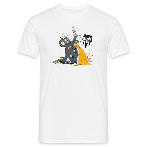 Suff Crew Caricature - Men's T-Shirt