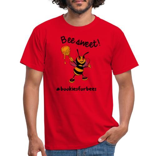 Bees7-1 Bienen sind süß   save the bees - Men's T-Shirt