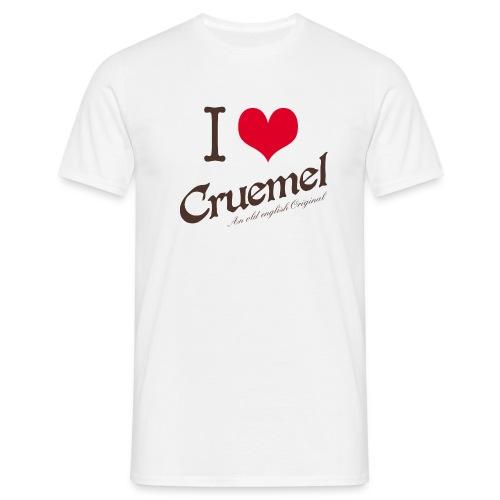 cruemel i heart farbe - Männer T-Shirt