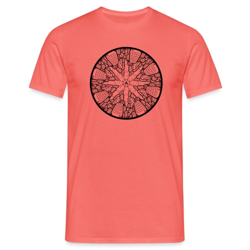 Architectuur Binnenstebuiten - T-shirt Homme