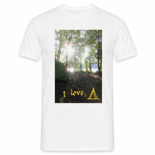 camping - Mannen T-shirt