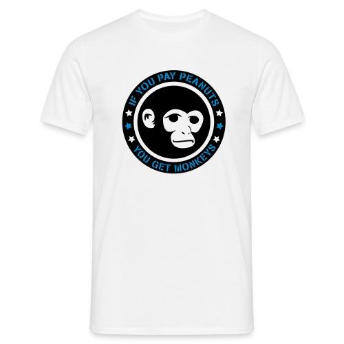 PAY PEANUTS - Männer T-Shirt