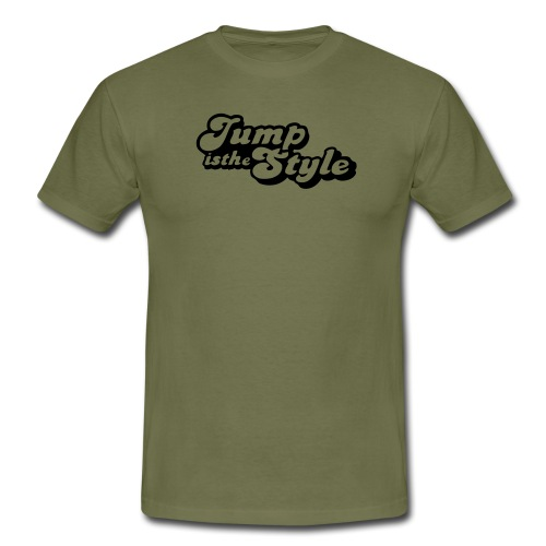 jump is the style pimp - Mannen T-shirt